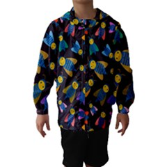 Bees Animal Insect Pattern Hooded Wind Breaker (kids)