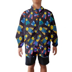 Bees Animal Insect Pattern Wind Breaker (Kids)