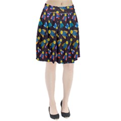 Bees Animal Insect Pattern Pleated Skirt