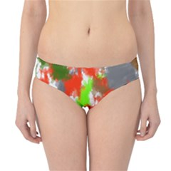 Abstract Watercolor Background Wallpaper Of Splashes  Red Hues Hipster Bikini Bottoms