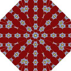 Geometric Seamless Pattern Digital Computer Graphic Wallpaper Hook Handle Umbrellas (Small)