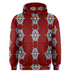 Geometric Seamless Pattern Digital Computer Graphic Wallpaper Men s Pullover Hoodie