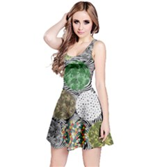 Dark Circles Cannabis Marijuana Reversible Sleeveless Dress