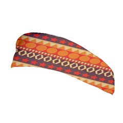 Abstract Lines Seamless Pattern Stretchable Headband