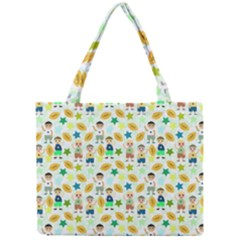 Football Kids Children Pattern Mini Tote Bag