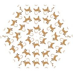 Cute Cats Seamless Wallpaper Background Pattern Mini Folding Umbrellas