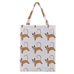 Cute Cats Seamless Wallpaper Background Pattern Classic Tote Bag