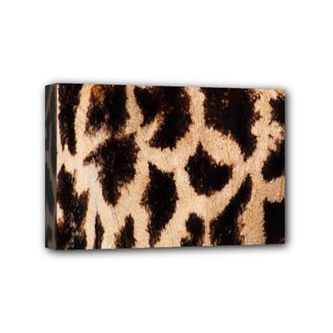 Yellow And Brown Spots On Giraffe Skin Texture Mini Canvas 6  x 4