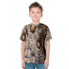 Butterfly Wing Detail Kids  Cotton Tee