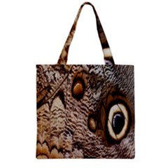 Butterfly Wing Detail Grocery Tote Bag
