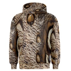 Butterfly Wing Detail Men s Pullover Hoodie