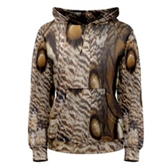 Butterfly Wing Detail Women s Pullover Hoodie