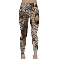 Butterfly Wing Detail Classic Yoga Leggings