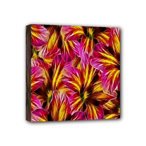 Floral Pattern Background Seamless Mini Canvas 4  x 4