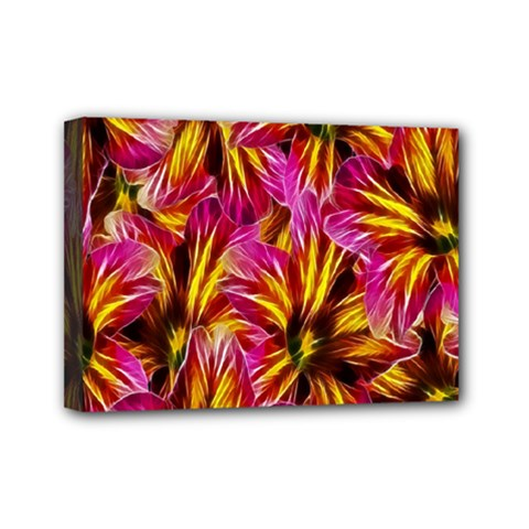 Floral Pattern Background Seamless Mini Canvas 7  X 5