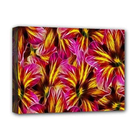 Floral Pattern Background Seamless Deluxe Canvas 16  X 12