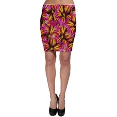 Floral Pattern Background Seamless Bodycon Skirt