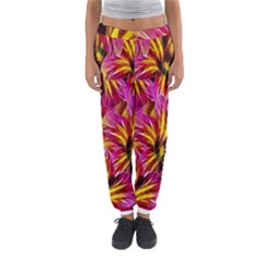 Floral Pattern Background Seamless Women s Jogger Sweatpants