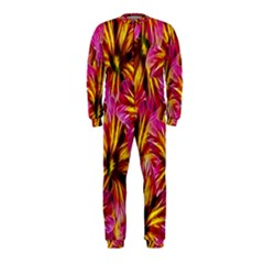 Floral Pattern Background Seamless Onepiece Jumpsuit (kids)