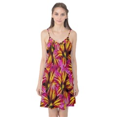 Floral Pattern Background Seamless Camis Nightgown