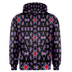 Digital Computer Graphic Seamless Wallpaper Men s Zipper Hoodie