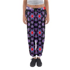 Digital Computer Graphic Seamless Wallpaper Women s Jogger Sweatpants