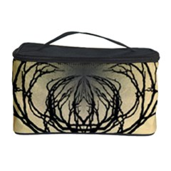 Atmospheric Black Branches Abstract Cosmetic Storage Case