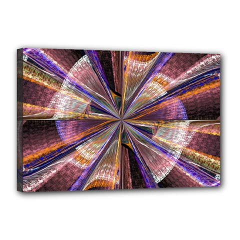 Background Image With Wheel Of Fortune Canvas 18  x 12