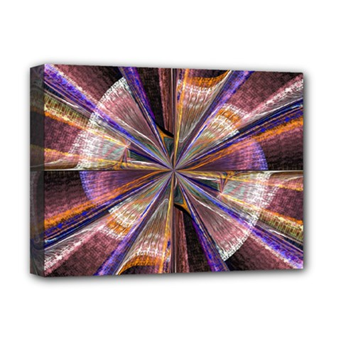 Background Image With Wheel Of Fortune Deluxe Canvas 16  x 12