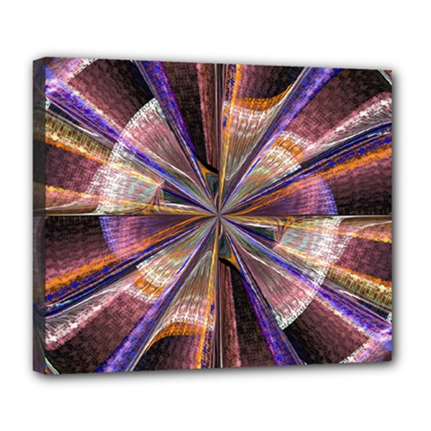 Background Image With Wheel Of Fortune Deluxe Canvas 24  x 20