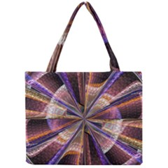 Background Image With Wheel Of Fortune Mini Tote Bag