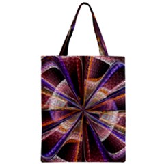 Background Image With Wheel Of Fortune Zipper Classic Tote Bag
