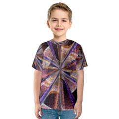 Background Image With Wheel Of Fortune Kids  Sport Mesh Tee