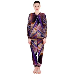 Background Image With Wheel Of Fortune OnePiece Jumpsuit (Ladies)