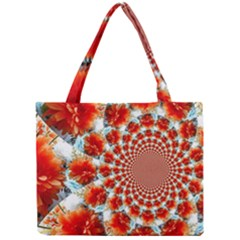 Stylish Background With Flowers Mini Tote Bag