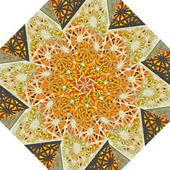 Abstract Starburst Background Wallpaper Of Metal Starburst Decoration With Orange And Yellow Back Hook Handle Umbrellas (Large)