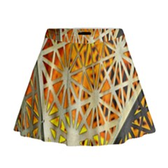 Abstract Starburst Background Wallpaper Of Metal Starburst Decoration With Orange And Yellow Back Mini Flare Skirt
