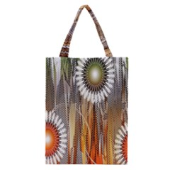 Floral Abstract Pattern Background Classic Tote Bag