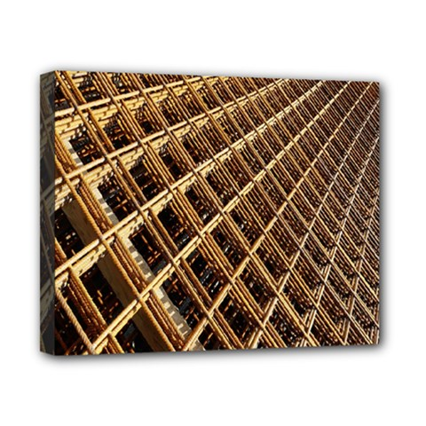 Construction Site Rusty Frames Making A Construction Site Abstract Canvas 10  x 8