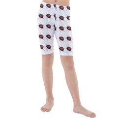 Insect Pattern Kids  Mid Length Swim Shorts