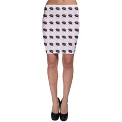 Insect Pattern Bodycon Skirt