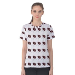 Insect Pattern Women s Cotton Tee