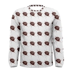 Insect Pattern Men s Long Sleeve Tee