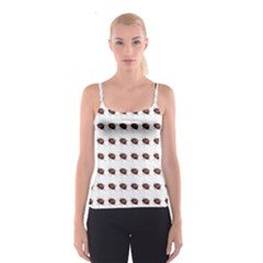 Insect Pattern Spaghetti Strap Top
