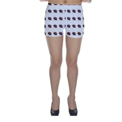 Insect Pattern Skinny Shorts