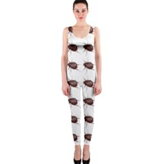 Insect Pattern OnePiece Catsuit