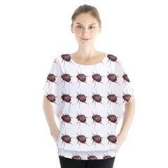 Insect Pattern Blouse
