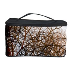 Digitally Painted Colourful Winter Branches Illustration Cosmetic Storage Case