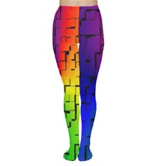 A Creative Colorful Background Women s Tights