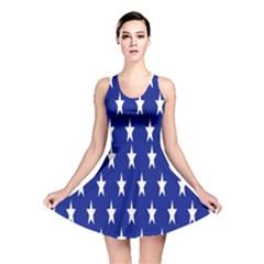Starry Header Reversible Skater Dress